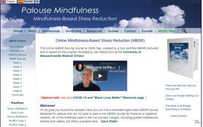 Mindfulness Based Stress Reduction – free, online class